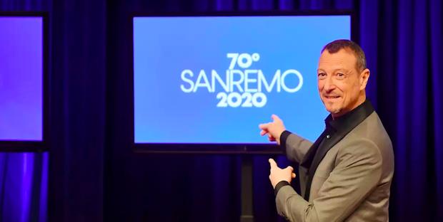 Sanremo 2020 – tutto pronto per la 70esima edizione